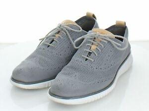 G37  $200 Men's Sz 7 M Cole Haan 2.Zerogrand Stitchlite Fabric Oxford Sneaker