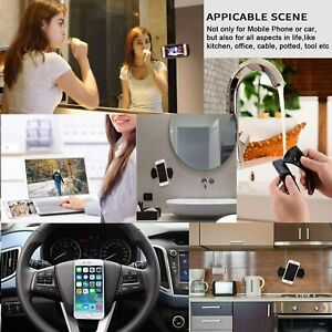 Universal Car Nano Rubber Mobile Phone Holder Reusable Gel Pad Paste Mount