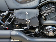 LEATHER BAGS LEFT & RIGHT HARLEY DAVIDSON V ROD NIGHT ROD