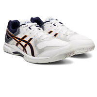 Asics Mens Gel-Rocket 9 Court Shoes - White Sports Squash Badminton Breathable