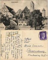 Ansichtskarte Riedlingen Stadtteilansicht 1943