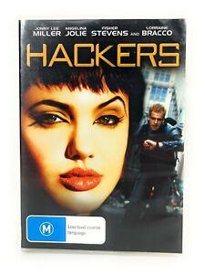 Hackers (DVD, 1995) Jonny Lee Miller, Angelina Jolie Region 4 Free Postage