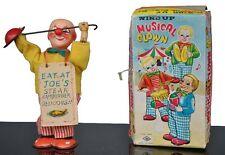 jouet ancien automate Japonais clown sandwich