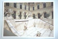 LOT 2 Carte Postale Paris Musée du Louvre Richelieu Les Halles Fontaine Innocent