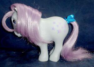 Rose: My Little Pony Vintage Flat Foot FF Blue Belle #2 EXCELLENT G1
