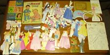 Teen Time Dolls Cut-Out Costumes and Accessories Large lot 1960