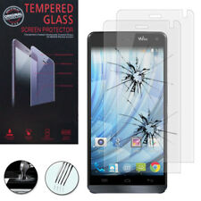 2X Safety Glass For Wiko Getaway Genuine Glass Screen Protector