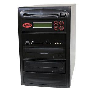 SySTOR 1-1 USB/SD/CF/MS/MMC MultiMedia Backup Copier to CD DVD Duplicator