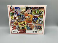 Disney Mickey Mouse 1500 Pieces Jigsaw Puzzle Ceaco New Sealed Kids Activity