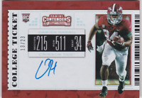 2019 Panini Contenders Draft Picks Cracked Ice Damien Harris #106 Auto /23