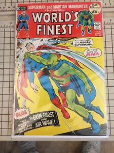 World's Finest #212 DC 1972, Superman-Martian Manhunter  O'Neil, Dillin