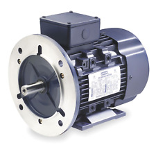 NEW! LEESON 4 HP ELECTRIC MOTOR, 3PH, 1760 RPM, 230/460V, DF100LD, 193337.60
