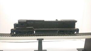 Bachmann Spectrum HO Train Undecorated Black GE Dash 8 Powered Diesel Locomotive