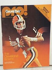 PRO! GAMEDAY THE CLEVELAND BROWNS QUARTERBACK BRIAN SIPE 1980 NFL MOST VALUABLE
