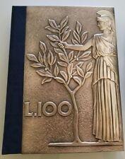 Libro LA LIRA SIAMO NOI - Copertina 100 Lire 1951 - Tiratura Limitata 4999 pezzi