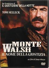 Dvd Monte Walsh - Il nome della giustizia con Tom Selleck 2004 Usato