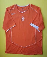 4.7 5 países bajos Holanda Fútbol Jersey Camisa De Fútbol Nike XL 2004 2006  ig93 41821f50831f1