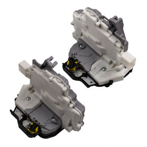 Pair Rear Right & Left Door Lock Actuator 4F0839015 4F0839016 For A3 A4 A6 C6 S8