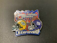 NFL 2007 NFC Championship Game, Green Bay Packers vs New York Giants Pin!