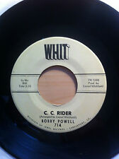 BOBBY POWELL C C RIDER/THAT LITTLE GIRL OF MINE WHIT RECORDS 714