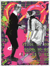 MR CLEVER ART PAINTING LESSONS #101 ON THE BLOCKCHAIN urban pop street binary