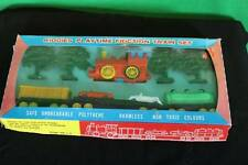 Vintage Kiddies Playtime Friction Model Train Set Antique Collectible Toy Jimson