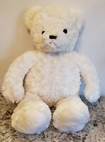 "Brookstone NAP Bear 23"" White Vintage Plush Teddy Big Rare HTF Toy Tan"