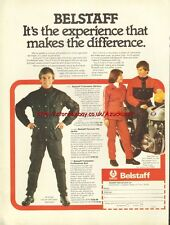 Belstaff Clothing Motorcycle 1977 Magazine Advert #408