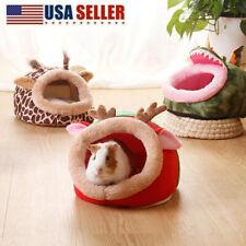 Small Animal Warm Bed Pets Hamster Hammock Hx Pad Nest House Pig Guinea Rat Usa