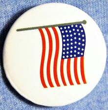 """1 Patriotic 1"""" American Flag Button/Pin/Badge/Hat/Lapel.FAST USA FREE"""