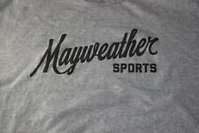 TEAM MAYWEATHER SPORTS GRAY RARE TSHIRT SIZE 2XL SHIRT FLOYD BOXING