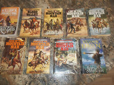 Lot of 9 Mountain Man series by William W. Johnstone - The Last Mountain Man