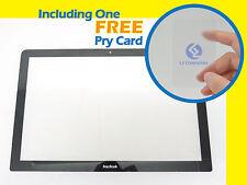 "NEW LCD LED Screen Display Glass Bezel c/w Apple Unibody MacBook 13"" A1278 2008"