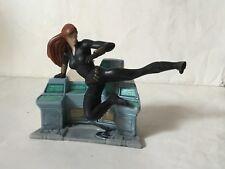 BLACK WIDOW  figure statuina basetta PVC MARVEL DISNEY AVENGERS VEDOVA NERA