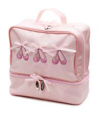 New Girls Pink Satin Ballet Dance Shoe Hand Bag By Katz Dancewear Gifts KB37