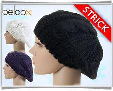 Damen-Stil aus Acryl Barett Damenhüte & -mützen