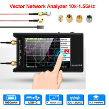 NanoVna 10k-1.5Ghz Vector Antenna Network Analyzer Vhf Hf Uhf Standing Wave Lcd