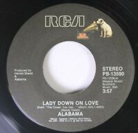 Country 45 Alabama - Lady Down On Love / Lovin' Man On Rca