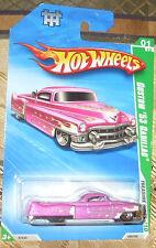 2010 HOT WHEELS TREASURE HUNTS #1-12 LT PURPLE CUSTOM '53 Cadillac Diecast 4+