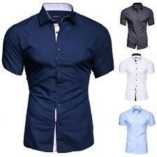 kayhan herren kurzarm hemd business hochzeit freizeit Shirt s m l xl xxl Florida