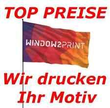 Hissfahne Werbefahne Fahne Flagge 150cm*90cm inkl. indiv. Druck und Versand