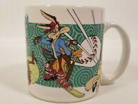 Wile E Coyote Weekend Warrior Looney Tunes Sports Coffee Mug Applause Warner