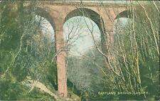 LANARK Cartland Bridge  Vintage Postcard  CB.1059