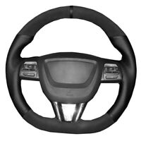 Hand Sewing Car Steering Wheel Cover For Seat Leon 2009 2010 2011 2012 DIY Wrap
