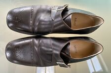 Bally Mens Brown Leather Shoes Size 10.5