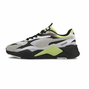 PUMA RS-X3 NEO FADE Blanc Jaune Baskets hommes Sneakers 373377-02