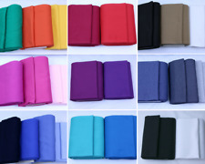 Cotton ribbing, cuffs, 24 colours, sold by 1/2m, 95% cotton, 5%spandex, 290gsm