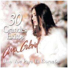 Audio CD - ANA GABRIEL - 30 Exitos Una Voz Para Tu Corazon (2 CD) Like New (LN)