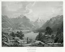 Altdorf acero aquatinta clave de hirchenhein a winterlin en krüsi aprox. 1865