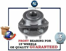 FOR CHEVROLET CRUZE 2010-> NEW FRONT WHEEL BEARING FOR 15'' WHEEL VEHICLES